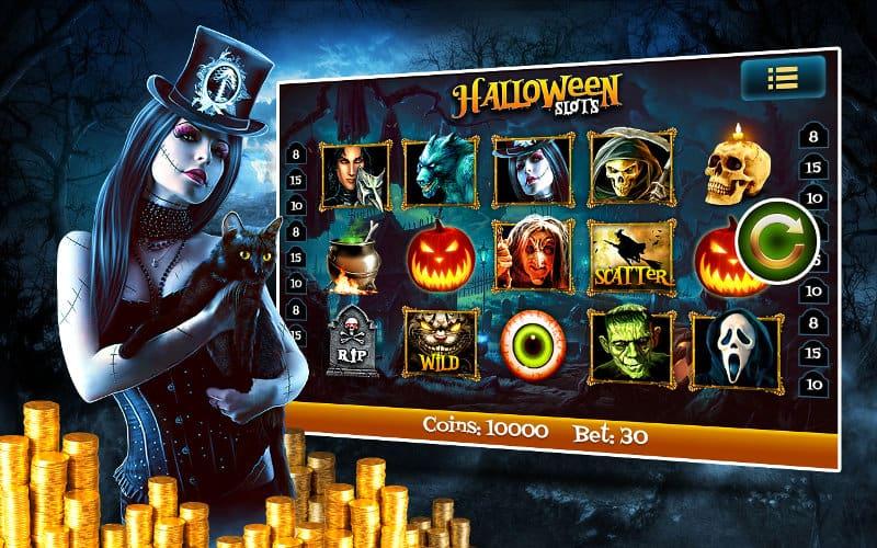 halloween themed slot games 2015