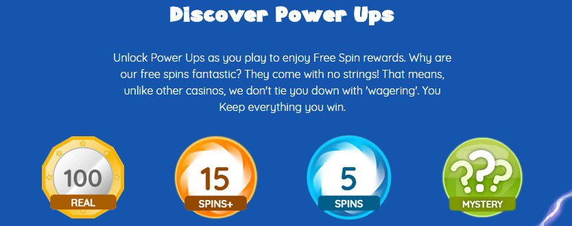 power spins mobile