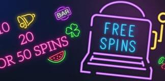 10 20 50 free spins no deposit