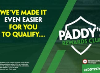 paddy power rewards club free weekly bets £10